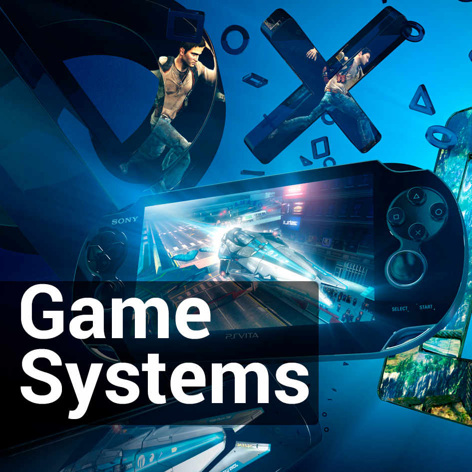 GAME SYSTEMS & GAMES